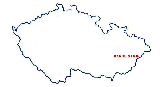 Map of Karolinka